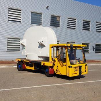ITALCARRELLI-Self Propelled Transporter with operator on board