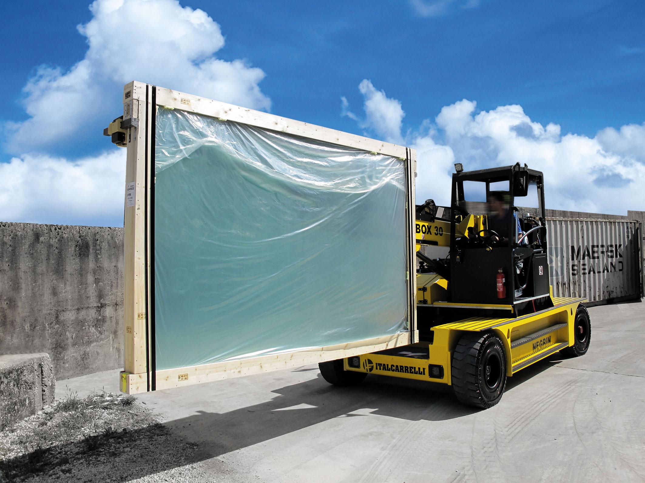 Container Load Unload Italcarrelli