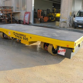 ITALCARRELLI Multidirectional transporters to handle heavy loads